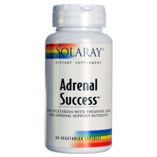 Adrenal Success Solaray - 60 cápsulas