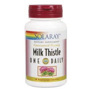 Milk Thistle (Cardo Mariano) Solaray - 30 cápsulas