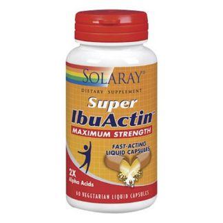 Super IbuActin Solaray - 60 cápsulas