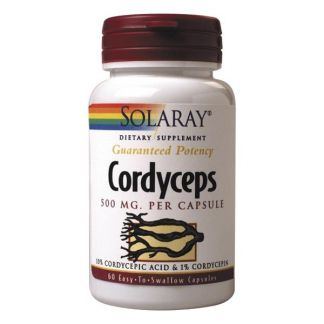 Cordyceps Solaray - 60 cápsulas