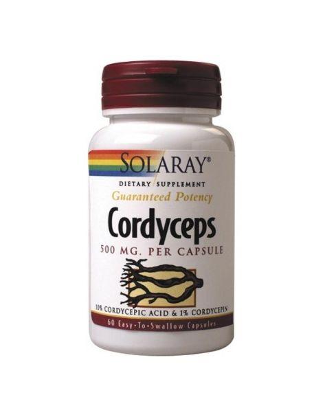 Cordyceps Extracto Solaray - 60 cápsulas