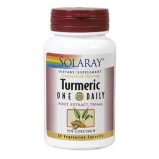 Turmeric (Cúrcuma) Solaray - 30 cápsulas