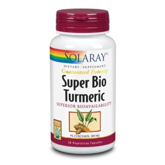Super Turmeric (Cúrcuma) Solaray - 30 cápsulas
