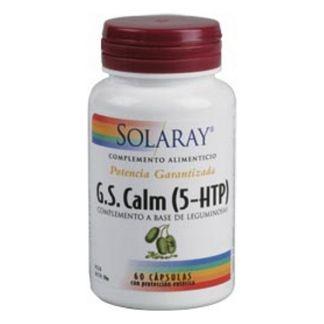 G.S. Calm (5-HTP) Solaray - 60 cápsulas