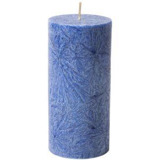 Vela de Cera de Palma Pilar Azul Kenzerfarm - 1 unidad