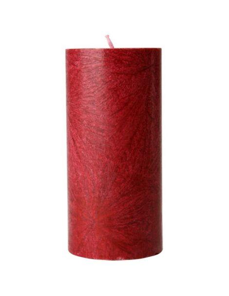 Vela de Cera de Palma Pilar Roja Kenzerfarm - 1 unidad