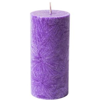 Vela de Cera de Palma Pilar Violeta Kenzerfarm - 1 unidad