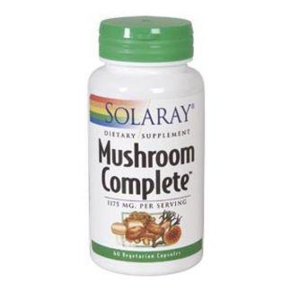 Mushroom Complete Solaray - 60 cápsulas