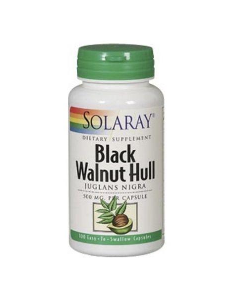 Black Walnut Hull (Nogal Negro) Solaray - 100 cápsulas
