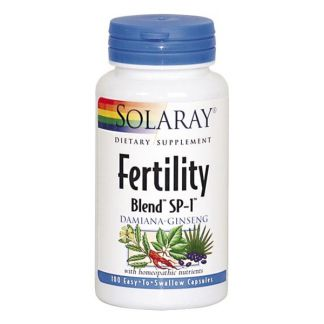 Fertility Blend Solaray - 100 cápsulas