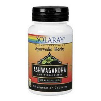 Ashwagandha Solaray - 60 cápsulas