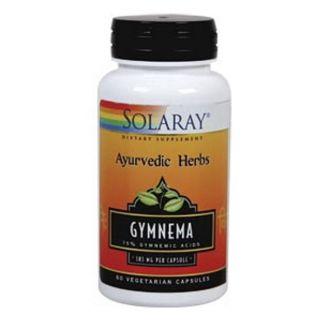 Gymnema Solaray - 60 cápsulas
