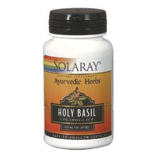 Holy Basil Solaray - 60 cápsulas