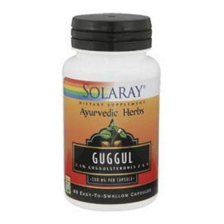 Guggul Solaray - 60 cápsulas