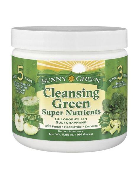 Cleasing Green Solaray - 166 gramos