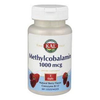 Vitamina B12 (Metilcobalamina) 1000 mcg. Kal - 60 comprimidos