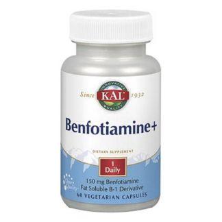 Benfiotiamina Plus Kal - 60 cápsulas