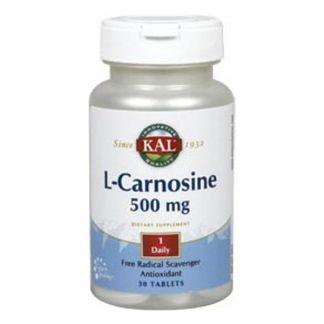 L-Carnosina 500 mg. Kal - 30 comprimidos