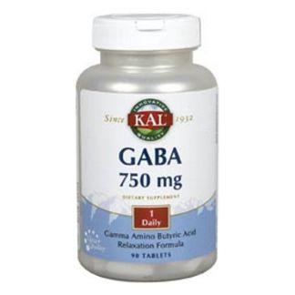GABA 750 mg. Kal - 90 comprimidos