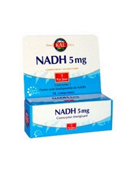 NADH 5 mg. Kal - 30 comprimidos