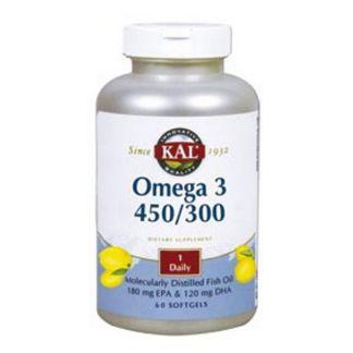 Omega 3 450/300 Kal - 60 perlas