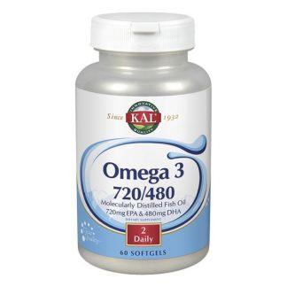 Omega 3 720/480 Kal - 60 perlas