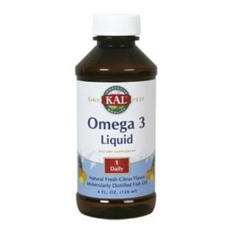 Omega 3 Líquido Sabor Limón Kal - 120 ml