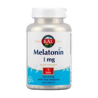Melatonina 1 mg. Kal - 120 comprimidos
