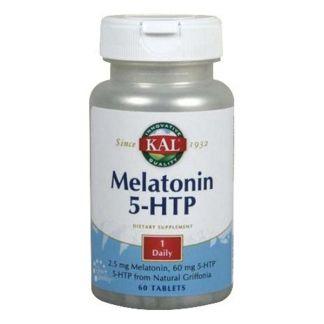Melatonina 1,9 + 5HTP Acción Retardada Kal - 60 cápsulas