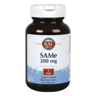 SAMe 200 mg. Kal - 30 cápsulas