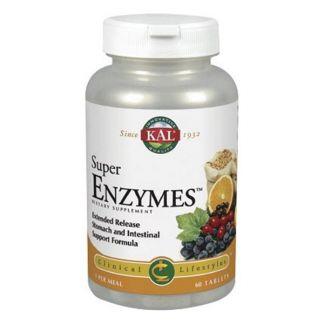 Super Enzymes Kal - 60 comprimidos