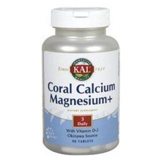 Coral Calcio/Magnesio  Kal - 90 comprimidos