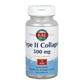 Colágeno Tipo II 500 mg. Kal - 60 comprimidos