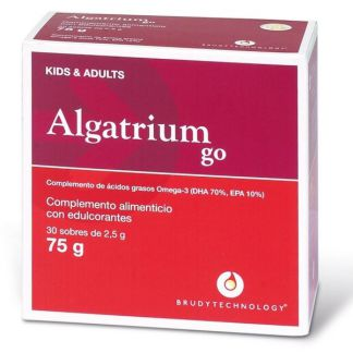 Algatrium Kids/Adults Go 500 mg. DHA Brudy Technology - 30 ml