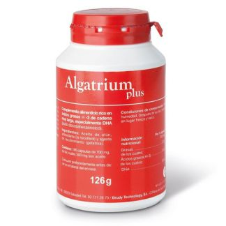 Algatrium Plus 350 mg. DHA Brudy Technology - 180 perlas