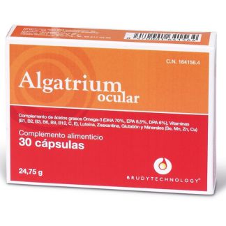 Algatrium Ocular 280 mg. DHA Brudy Technology - 30 cápsulas