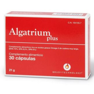 Algatrium Plus 350 mg. DHA Brudy Technology - 30 cápsulas