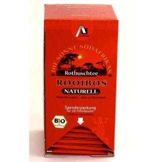 Té Rojo Rooibos Natural Bio Avitale - 20 bolsitas