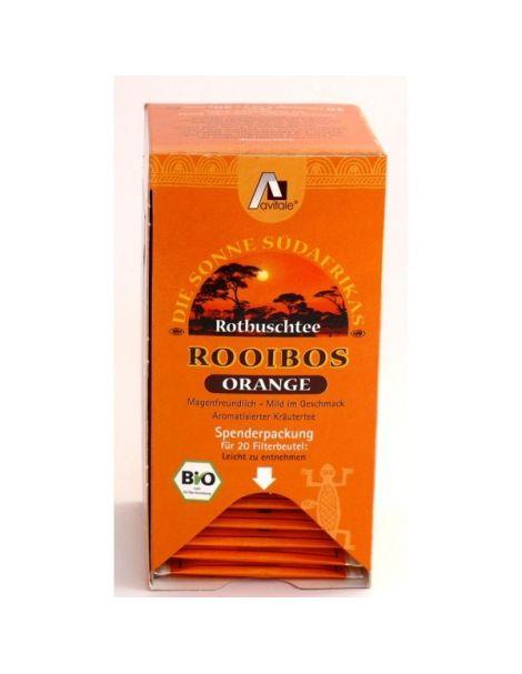 Té Rojo Rooibos Naranja Bio Avitale - 20 bolsitas