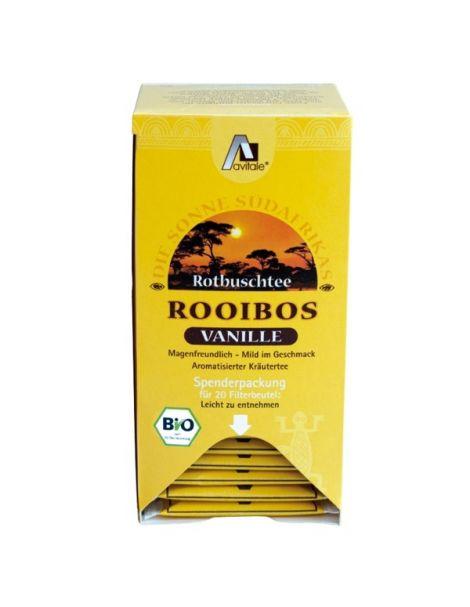 Té Rojo Rooibos Vainilla Bio Avitale - 20 bolsitas