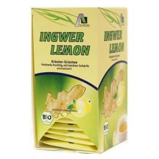 Té Verde con Jengibre y Limón Bio Avitale - 20 bolsitas