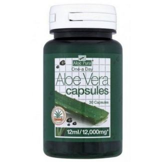 Aloe Vera Doble Fuerza Optima - 30 cápsulas