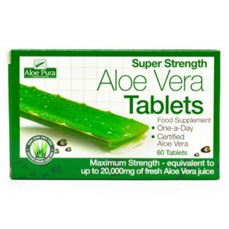 Aloe Vera Potencia Máxima Optima - 30 tabletas