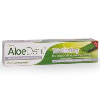 Dentífrico Aloe Vera Blanqueador Optima - 100 ml.