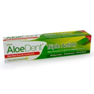 Dentífrico Aloe Vera con Flúor Optima - 100 ml.