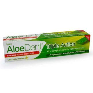 Dentífrico Aloe Vera con Flúor Optima - 100 ml.