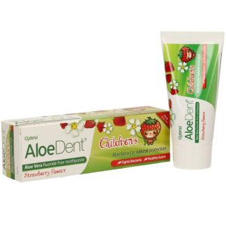 Dentífrico Aloe Vera para Niños Optima - 50 ml.