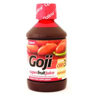 Zumo de Goji con OXY3 Optima - 500 ml.