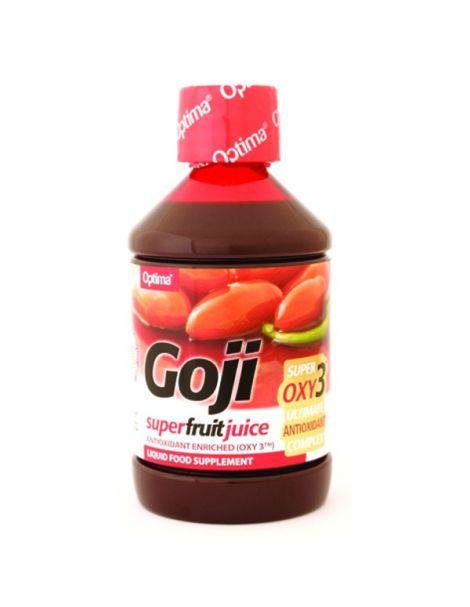 Zumo de Goji con OXY3 Optima - 500 ml.