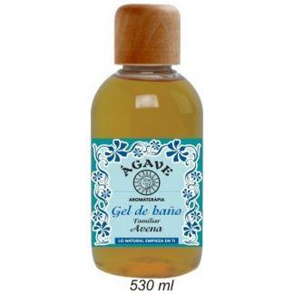 Gel de Baño de Avena Ágave - 530 ml.